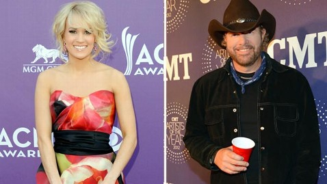 gty carrie underwood toby keith jef 130521 wblog Celebs With Oklahoma Roots React to Tornado