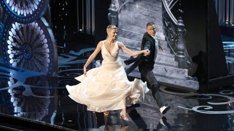 gty charlize theron dance oscar opener thg 130224 wblog Oscars 2013: Academy Awards Live Updates