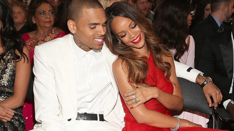 gty chris brown rihanna grammys thg 130226 wblog Chris Brown Says Rihanna Has Forgiven Him