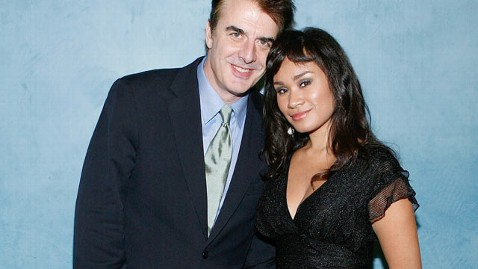 gty chris noth marries tara wilson 120411 wblog Chris Noth, aka Mr. Big, Ties the Knot