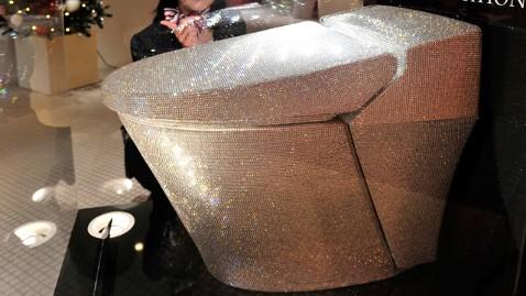 gty crystal toilet dm 111213 wblog $128,000 Toilet, Flush With Swarovski Crystals