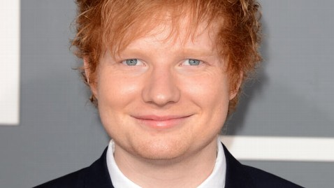 gty ed sheeran grammys red carpet lpl 130210 wblog Grammys 2013 Live Updates