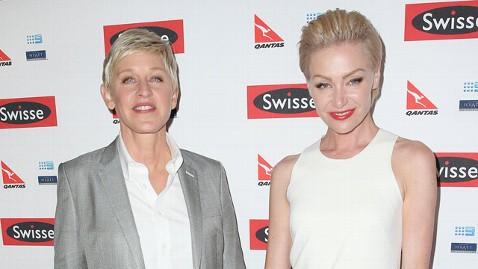 gty ellen degeneres portia de rossi jt 130413 wblog No Children for Ellen DeGeneres and Portia de Rossi