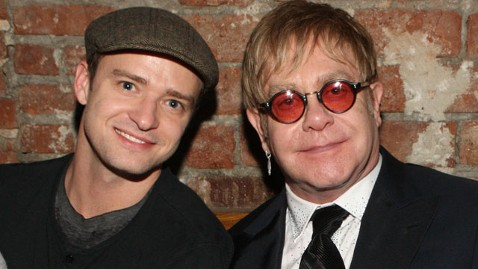 gty elton john justin timberlake nt 120103 wblog Elton John Wants Justin Timberlake to Play Him in Biopic