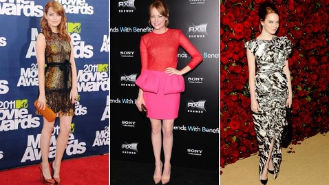 gty emma stone mtv friends premiere moma cc 111123 wblog VOTE: Who Ruled the Red Carpet in 2011?