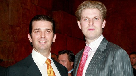 gty eric donald trump jr jef 120326 wblog Trumps Sons Under Investigation for African Hunting Trip