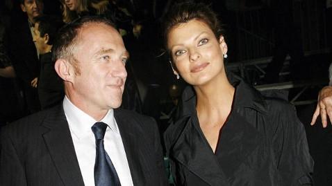 Линда Евангелиста и Франсуа-Анри Пино