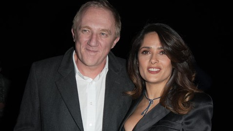 gty francois henri pinault salma hayek 120502 wblog Linda Evangelista Takes Salma Hayeks Hubby to Court for Child Support