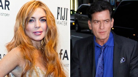 gty gty lindsay lohan charlie sheen jef 130226 wblog Lindsay Lohan to Guest Star on Charlie Sheens Anger Management
