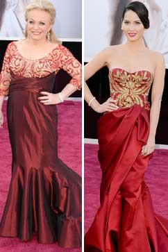 gty jackie weaver olivia munn thg 130224 vblog Oscars 2013: Academy Awards Live Updates