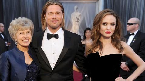 gty jane pitt brad pitt angelina jolie ml 130514 wblog Brad Pitts Mother: Were So Very Proud of Angie