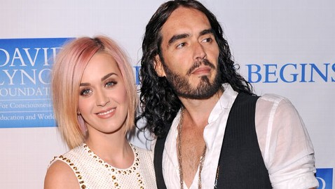 gty katy perry russell brand thg 120203 wblog Most Tweeted Ex Couple? Its Not Who You Think