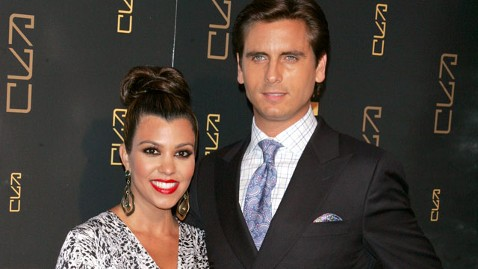 gty kourtney kardashian scott disick jef 120709 wblog Kourtney Kardashian and Boyfriend Scott Disick Welcome Baby Girl