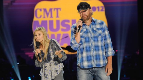 gty kristen bell toby Keith cma thg 120606 wblog Toby Keith, Kristen Bell Hosting Star Packed CMT Music Awards Tonight