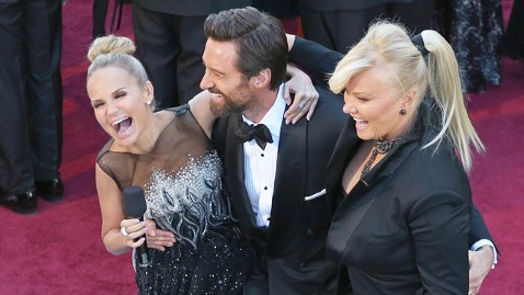 gty kristin chenoweth hugh jackman debra furness thg 130224 wblog Oscars 2013: Academy Awards Live Updates