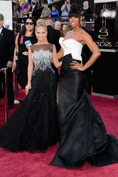 gty kristin chenoweth kelly rowland oscars thg 130224 vblog Oscars 2013: Academy Awards Live Updates