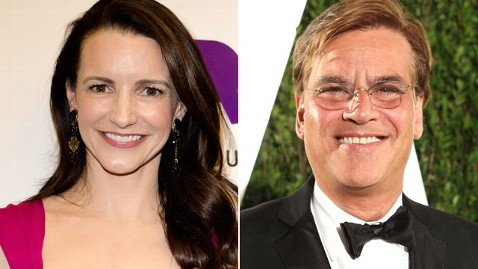 gty kristin davis aaron Sorkin thg 120524 wblog Are Kristin Davis and Aaron Sorkin Dating?