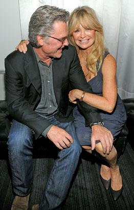 Goldie Hawn and kurt russell 2014