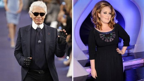 gty lagerfeld adele jef 120207 wblog Karl Lagerfeld Says Adele is Too Fat
