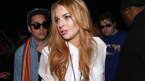 gty lindsay lohan dm 120420 wblog Lindsay Lohan Hospitalized After Car Crash