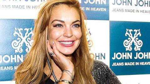 gty lindsay lohan mi 130402 wblog Lindsay Lohan: Im Not Pregnant
