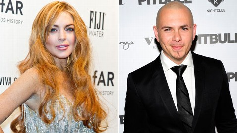 gty lindsay lohan rapper pitbull lawsuit thg 130222 wblog Lindsay Lohan Suit Against Rapper Pitbull Is Dismissed