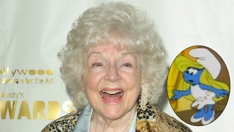 gty lucille bliss smurfette mi 121116 wblog Animation World Loses Voice of Smurfette: Lucille Bliss Dies at 96