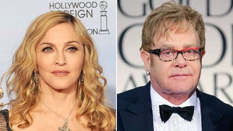 gty madonna elton john jp 120116 wblog Madonna on Elton Johns Fury Over Golden Globe Win: I Dont Feel Bad