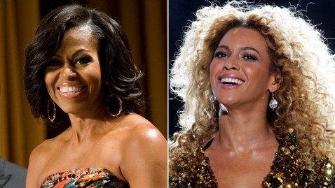 gty michelle obama beyonce jp 120525 wblog Beyonce Resurfaces Love for First Lady in Campaign Video