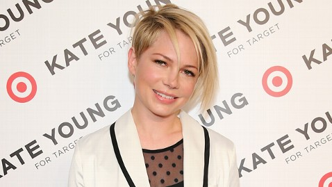 gty michelle williams hair lpl 130410 wblog Michelle Williams Sports Daring New Do