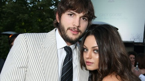 gty mila kunis ashton kutcher nt 120425 wblog Ashton Kutcher and Mila Kunis: More Than Friends?