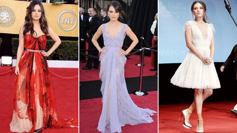 gty mila kunis sag oscars russian premiere cc 111129 wblog VOTE: Who Ruled the Red Carpet in 2011?