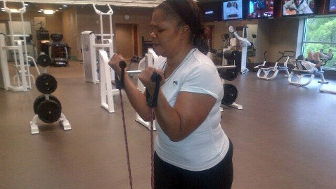 gty monique weight loss arm ulls after twitter thg 130515 wblog MoNique Drops Whopping 80 Pounds