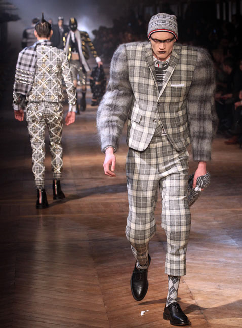 gty paris mens fashion 1 wy 120124 Munster Chic Hits the Paris Runways [PHOTOS]