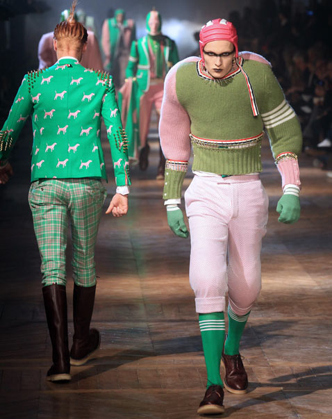 gty paris mens fashion 2 wy 120124 Munster Chic Hits the Paris Runways [PHOTOS]