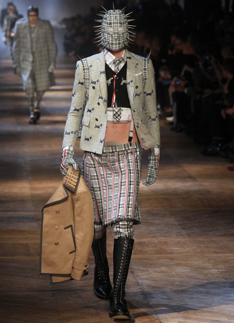 gty paris mens fashion 3 wy 120124 Munster Chic Hits the Paris Runways [PHOTOS]