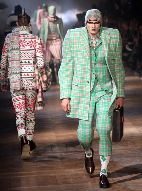 gty paris mens fashion 4 wy 120124 Munster Chic Hits the Paris Runways [PHOTOS]