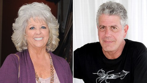 gty paula dean anthony bourdain thg 120405 wblog Anthony Bourdains Scary Hate Mail From Deen Fans