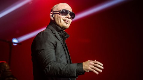 gty pitbull lpl 120702 wblog Internet Votes to Send Rapper Pitbull to Alaska Walmart