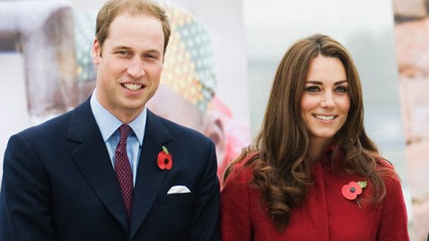 gty prince william kate middleton thg 111214 wblog Will and Kate Prep for First Wedding Anniversary