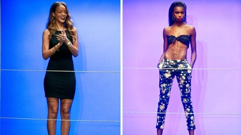 gty rihanna fashion show jef 130219 wblog Rihannas Fashion Collection: A Slutty Disaster or Triumph?
