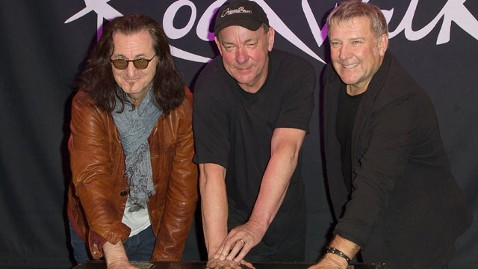 gty rush band thg 121211 wblog Rock and Roll Hall of Fame Names 2013 Inductees