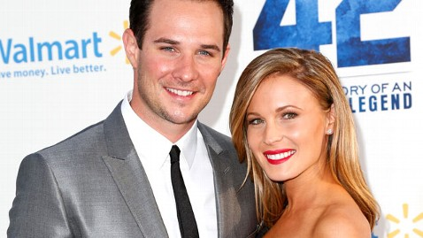 Ryan Merriman with beautiful, cute, endearing, Wife Kristen McMullen