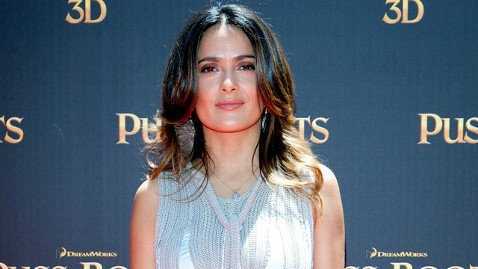 gty salma hayek jef 120103 wblog Salma Hayek to Be Knighted in France, Raising Some Eyebrows