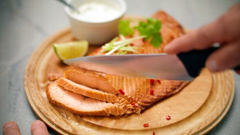 gty salmon dm 120327 wblog Chef David Burke Dishes on Healthy Cooking