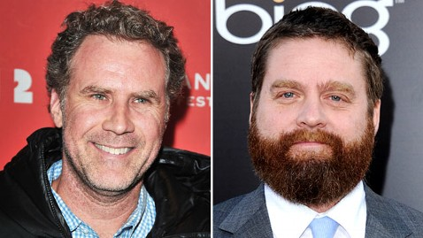 gty will ferrell zach galifianakis wblog Will Ferrell, Zach Galifianakis Presenting at Oscars