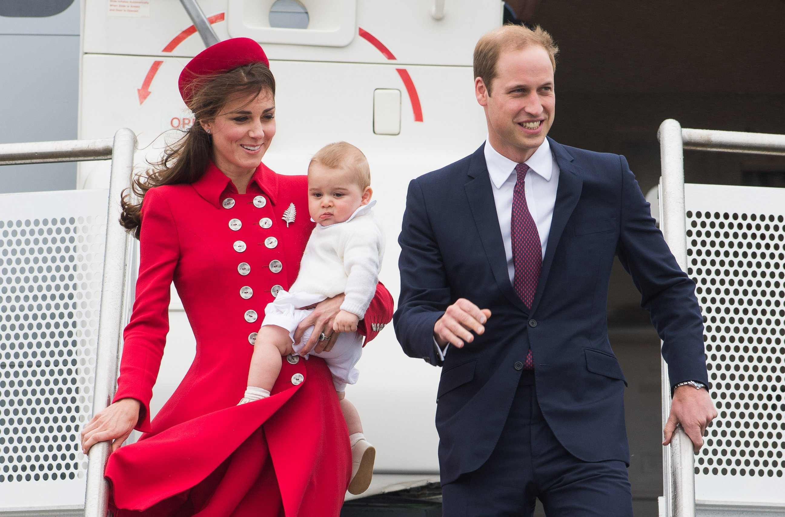 gty william kate royals new zealand kb 140407 Royal Couple Make Royal Statement Down Under