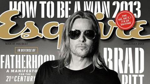 ht esquire brad pitt june 2013 thg 130521 wblog Why Brad Pitt Tries to Avoid Sexy Scenes Without Angelina Jolie