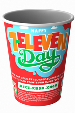 ht 7 11 slurpee day ll 120711 vblog 7 Eleven Celebrates Birthday With Free Slurpees