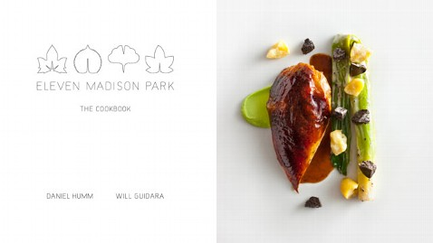 ht Madison Park Cookbook nt 111025 wblog Eleven Madison Park: The Cookbook